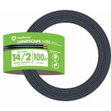 southwire 100 ft 14 gauge 2 conductor landscape lighting cable