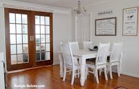 dining room french doors office. And Behind Those Doors Is My Newly Renovated Farmhouse Style Home Office. (And Our Cat, Lol.) Dining Room French Office C