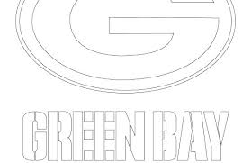 Coloring Green Bay Packers Logo Coloring Page Pages Free Green Bay
