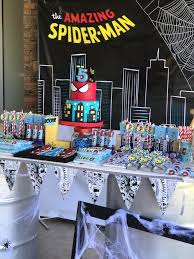 Karas Party Ideas The Amazing Spiderman Birthday Party Karas