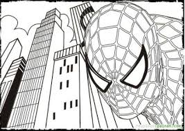 Small Picture Spiderman Coloring Pages coloringrocks
