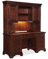home office desk hutch. Cambridge Home Office Furniture, 2 Piece Set (Credenza Desk And Hutch) Hutch