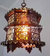 Vintage Lighting Reproduction B161 Antique Vintage Reproduction Mamluk Handmade Octagonal Brass Chandelier Buy Islamic Lamp Antique Table Chandelier Antique Brass Copper