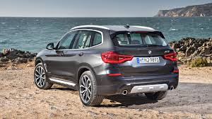 2018 BMW X3 XDrive30d (Color: Sophisto Grey Brilliant Effect Metallic) -  Rear Three
