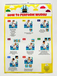 Wudhu Chart For Kids