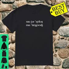 There are several spelling alphabets in use in international radiotelephony. International Phonetic Alphabet Language Shirt