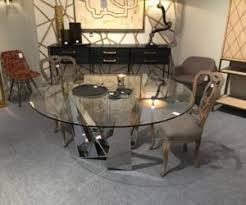 mirrorred furniture. Round Dining Table With Mirrored Base-legs Mirrorred Furniture