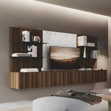 contemporary tv wall unit diciotto 05