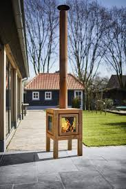 Outdoor Wood Stove Designs Quaruba Outdoor Wood Burning Stove In Corten Steel