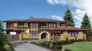 Prairie Style Floor Plans   Prairie Style Designs from FloorPlans comFloor Plan AFLFPW   Story Home   Baths