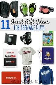 Great gift ideas for all the teenage boys on your shopping list! Give them  something