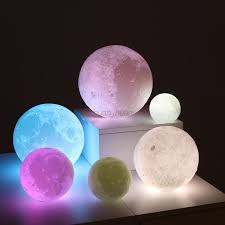 image is loading usb led night light moonlight gift 3d moon