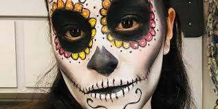 gina rodriguez s makeup on jane the virgin is sugar skull inspired