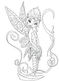 Free Coloring Pages Disney Princess Ariel Pixie Hollow To Print
