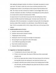 Dna Essay Dna Extraction From Onions Lab Report