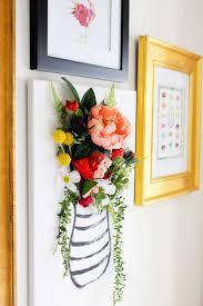 Canvas Design Ideas diy 3 d flower canvas art part 1