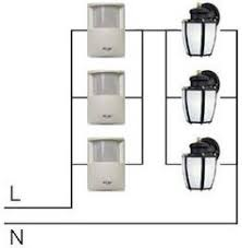 zenith motion sensor wiring diagram wiring in the home motion Heath Zenith Motion Sensor Light Wiring Diagram schematic wiring diagram for multiple motion detectors with 120vac lighting · motion detectorelectric heath zenith motion sensor light wiring diagram
