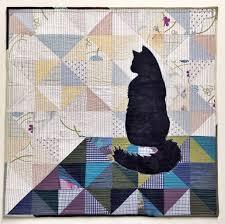 Best 25+ Cat quilt patterns ideas on Pinterest | Cat quilt ... & Silhoucat Quilt Pattern Adamdwight.com