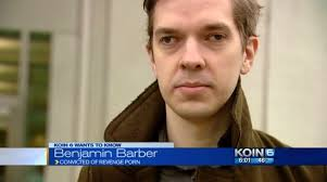 Benjamin Barber convicted First person prosecuted sentenced.