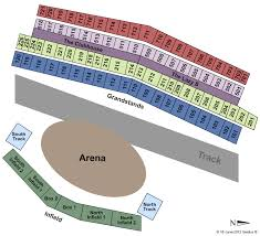 Calgary Rodeo Seating Chart Calgary Stampede Rangeland Derby Tickets Meedel