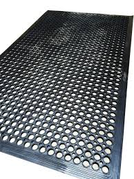 anti slip decking work floor rubber mat fatigue camping