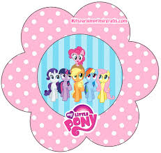 Small Picture My Little Pony Free Printable Mini Kit Oh My Fiesta for Geeks