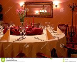 Rotes Esszimmer Stockfoto Bild Von Hell Speisen Möbel