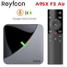 Android 9.0 RGB Light Smart TV Box Amlogic S905X3 USB3.0 1080P H.265 4K  60fps Wifi Google Player Youtube A95X F3 Air 8K TVBOX - Super Promo #90A39