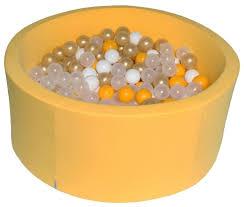 Детский бассейн Hotenok <b>Лимонное золото</b> (sbh089) — купить по ...