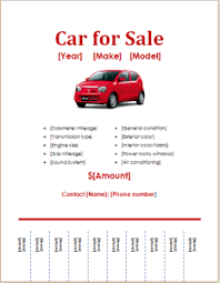 Car For Sale Template Car For Sale Flyer Magdalene Project Org