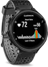 garmin forerunner 235 gps heart rate monitor watch rei com black gray