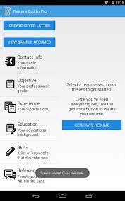 Creative Ideas Resume Creator App Resume Creator For Students Best