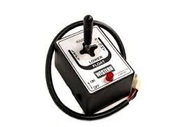 western strait blade joystick control 6 pin white plug 56369 western straight blade joystick control 6 pin white plug 56369