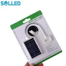 Solled 3 Led Solarusb Power Opladen Flexibele Clip Nachtkastje