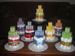 diaper cake for baby shower centerpiece style how decorating game centerpieces arrangements showers to make diy decorations mini a