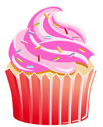 19 Transparent Cupcake Pink Huge Freebie Download For Powerpoint