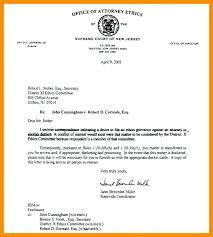 Examples Of Executive Resumes Business Letter Format To Cc Copy 4