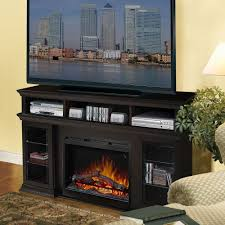 bennett espresso electric fireplace entertainment center gds26l5 1555e