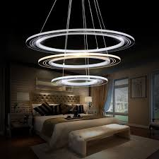 home office light fixtures. Led Modern Chandelier Lighting Fixture DIY Simple Creative Lamp Lustres Acrylic Dining Living Room Home Office Light Fixtures L