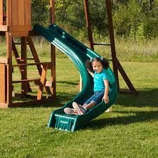 curved slide swing set parts accessories kiddyplayground