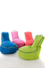 take the indoors out with a garden bean bag