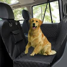 dog car seat coverswaterproof scratch proof pet seat covers dog seat covers for back seat w mesh window side flaps convertible dog hammock durable soft