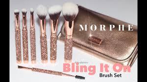 morphe bling it on holiday brush set