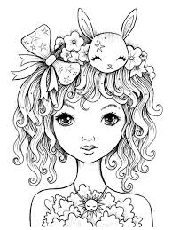 Cute Coloring Page Coloring Coloring Pages For Girls Coloring