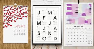 Small Picture 9 Wall Calendars To Keep You Organized In 2016 plus they can