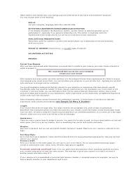 How To Make A Resume Of Extracurricular Activities Extra Curricular