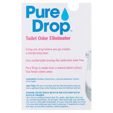 Pure Drop Toilet Odor Eliminator  Fl Oz Walmartcom - Best bathroom odor eliminator