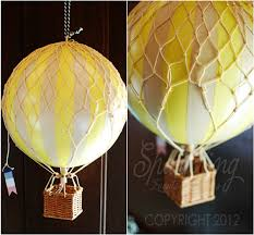 Hot Air Balloon Party Decorations | Category: hot air balloon party ideas