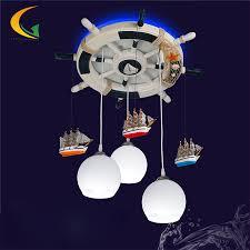 mediterranean baby room kid room chandeliers led 110v 220v e27 glass ball light modern