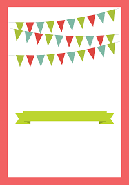 Party Invitaion Templates Red Pennants Free Printable Bbq Party Invitation Template